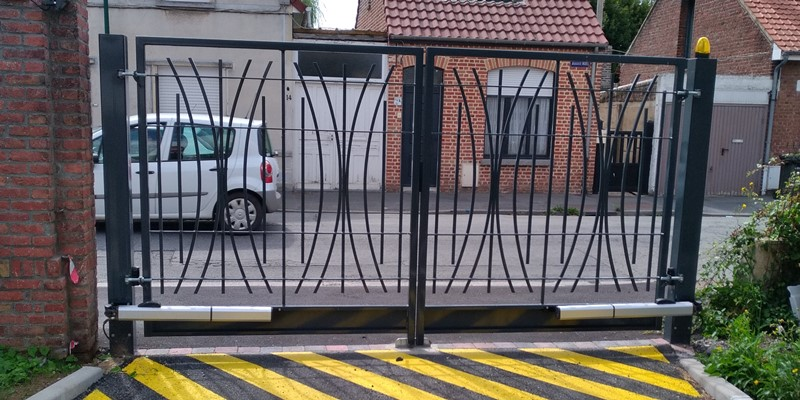 LD Access, installation porte automatique